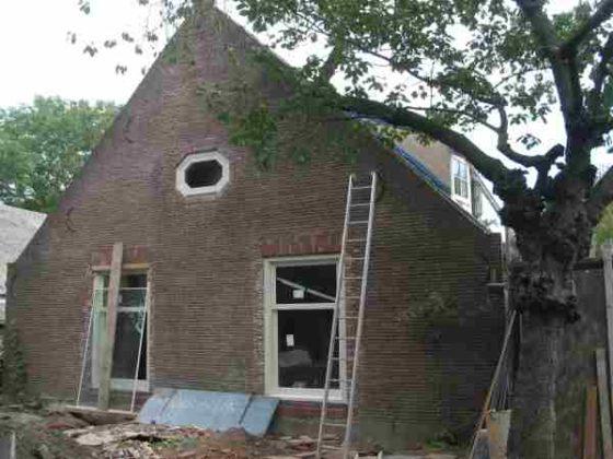 Duurzame restauratie met beton en kalkhennep
