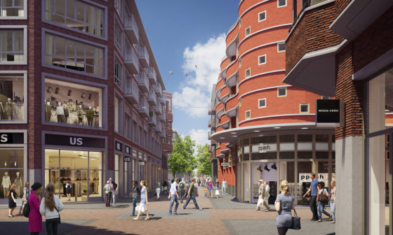 Minder winkels in Leidsche Rijn