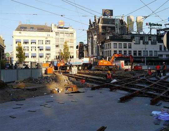Dura Vermeer sneller klaar met verbouwing Leidseplein