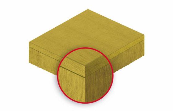 Horizontale en verticale vezels zorgen voor lichte isolatieplaat