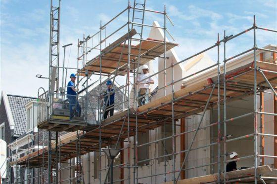 Laagste loonkostenstijging in de bouw