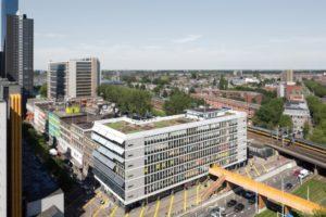 Vastgoeddiscussie over kantoorpanden in Rotterdam