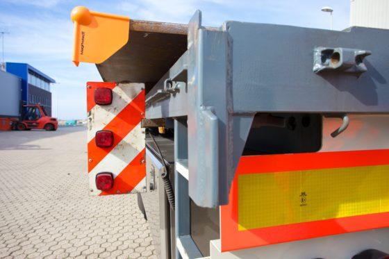 Oranje beschermhoek met krachtige magneet