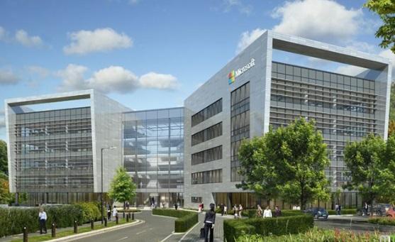 BAM bouwt voor 100 miljoen hoofdkwartier Microsoft