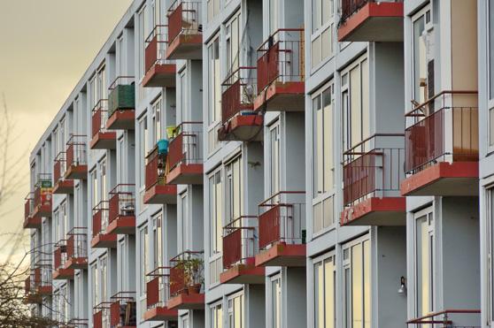 Nieuw Utrechts Peil bouwt flat Mitros