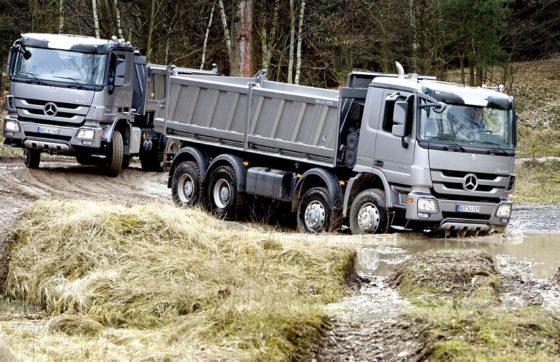 Mercedes-Benz met Actros Fuel Duel naar Carrosserie Vakdagen