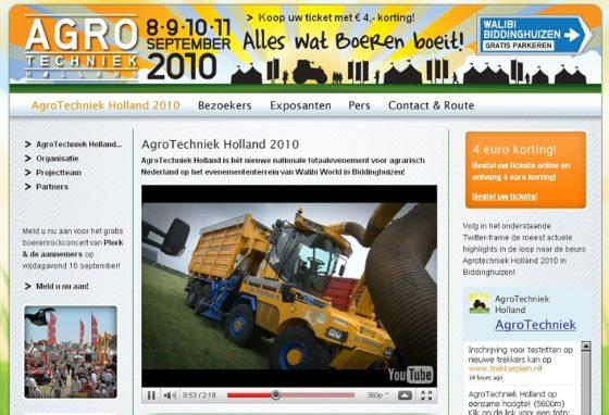 Nieuw vakevenement Agrotechniek Holland