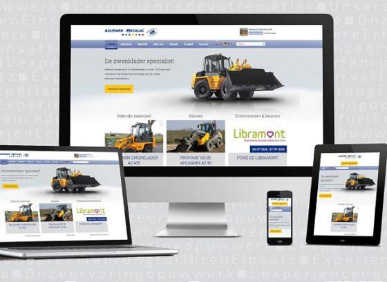Ahlmann Nederland maakt website helemaal mobiel