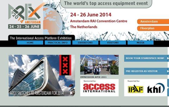 Platformbeurs APEX 2014 krijgt dubbele omvang