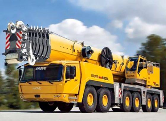 Bauma: Grove GMK-6300 L-versie krijgt 80 meter hoofdmast