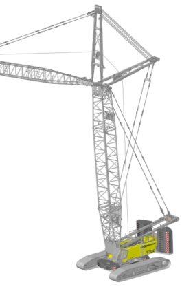 Sennebogen komt naar Bauma met 300 tons Star-Lifter