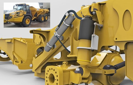 Bell dumpers geeft sneak preview Comfort Ride systeem