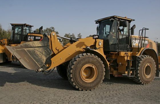 Caterpillar geeft stillere K-serie wielladers een flinke 'push'