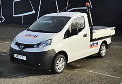 Nissan brengt eerste pick-up met elektrische aandrijving