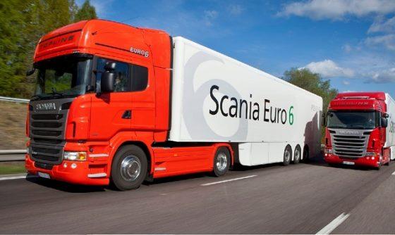 Scania Euro 6 als beursprimeur op Carrosserie Vakdagen
