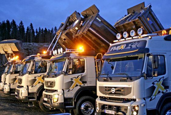 In Europa steeds meer vrachtauto's verkocht