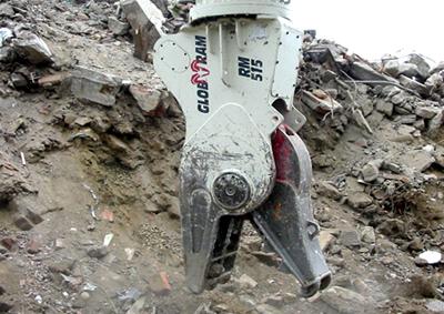 Snelle vergruizer RM 515 van Globram