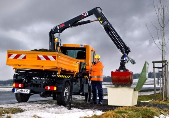 HIAB introduceert compacte XS-serie