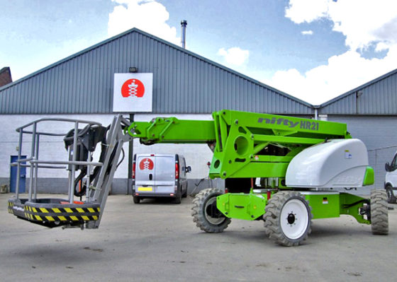 Niftylift claimt eerste hybride hoogwerker