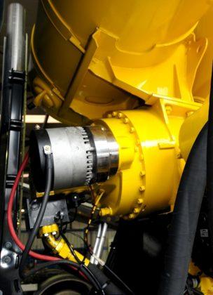WVT maakt hybride aandrijving voor betonmixers