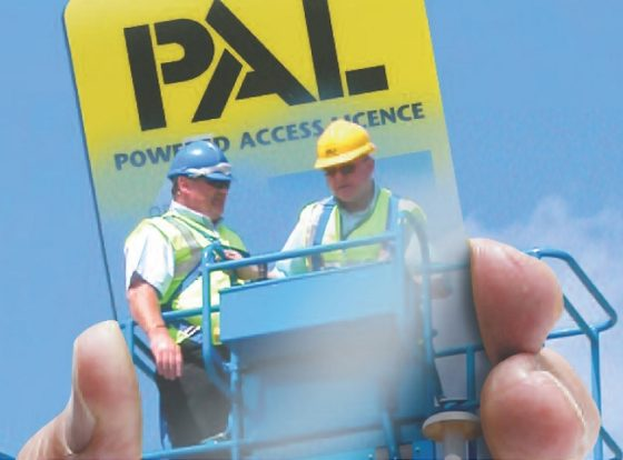 IPAF zeer tevreden over veiligheidssucces van PAL Card