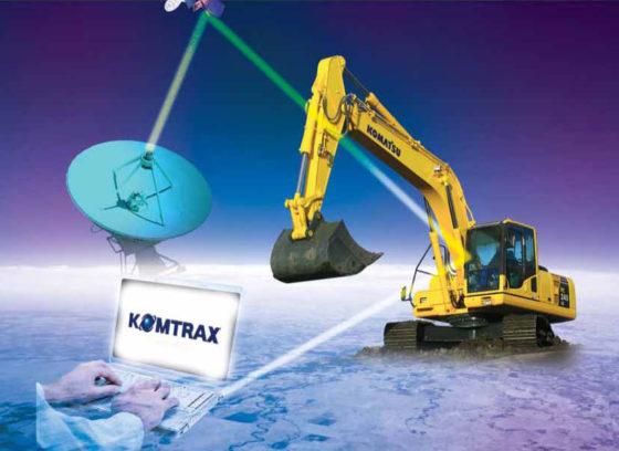 Komtrax houdt Komatsu op leidende positie