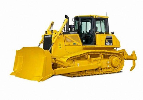 Komatsu's bulldozer D65-16 komt tot leven