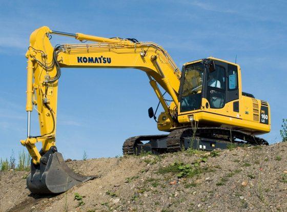 Komatsu presenteert 16 tons graver PC160LC-8