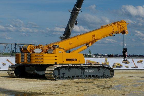 Liebherr's LTR 1200 een primeur die staat als een 'tank'