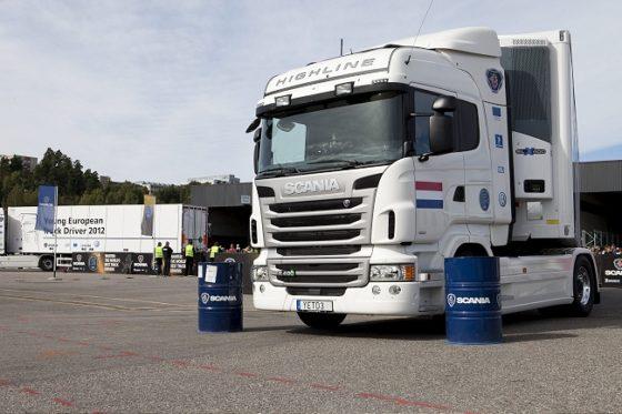 Chauffeurs maken laatste kans op een nieuwe Scania Streamline