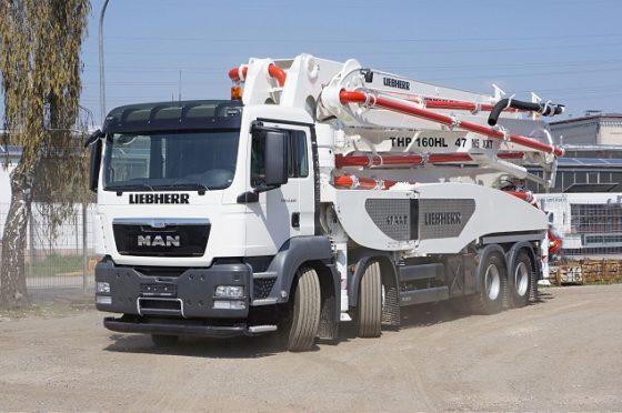 Liebherr verbetert betonpomp 47 M5 XXT