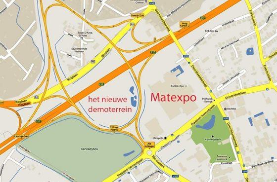 Matexpo krijgt groot demoterrein in het 'ei' van Kortrijk