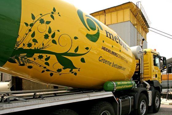 Truckmixer op biogas doorbraak in zwaar transport
