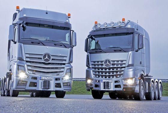 Nu ook SLT-uitvoering van Mercedes-Benz Arocs