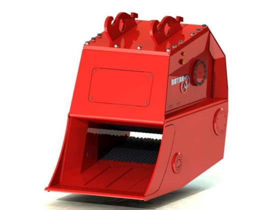 Rotar gaat definitieve versie Crusherbak demonsteren