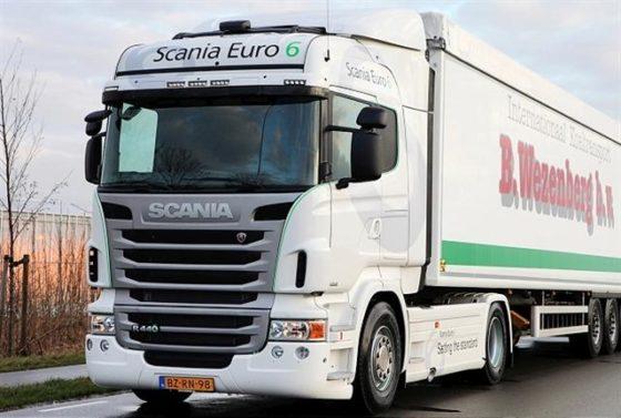 Wezenberg als eerste in Nederland de weg op met Scania Euro 6