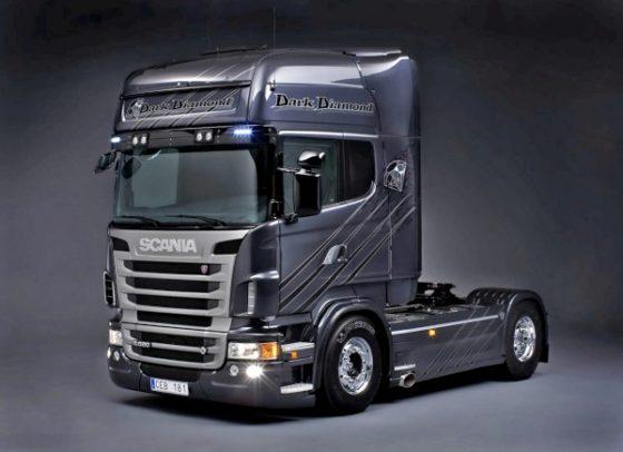 Scania scoort met bijzondere trucks