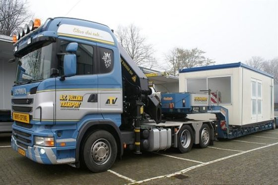 Vellema koopt Scania R440 Highline 6×2 voor exceptionele transporten