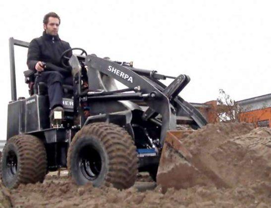 Hanenberg ontwikkelt supersmalle Sherpa