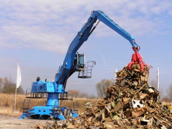 Terex-Fuchs MHL365D komt naar Nederland