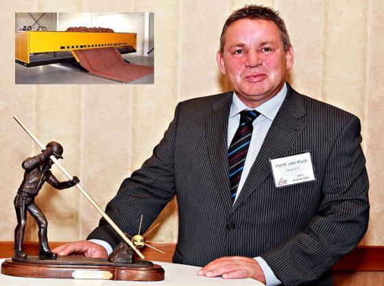 Tiger-stone bestratingsmachine wint prestigieuze Award in Verenigde Staten