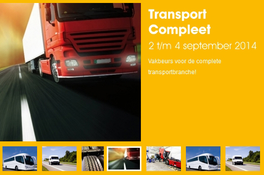 Volgende week naar vakbeurs Transport Compleet