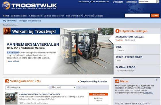 Buitenland koopt massaal gebruikte machines en goederen op