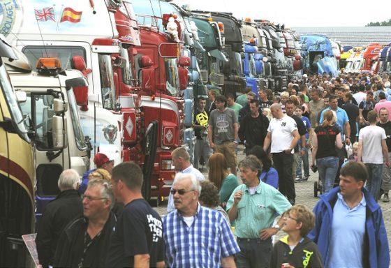 Assen bereidt zich voor op het Truckstar Festival