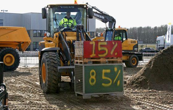Economische rugwind voor Volvo Construction Equipment