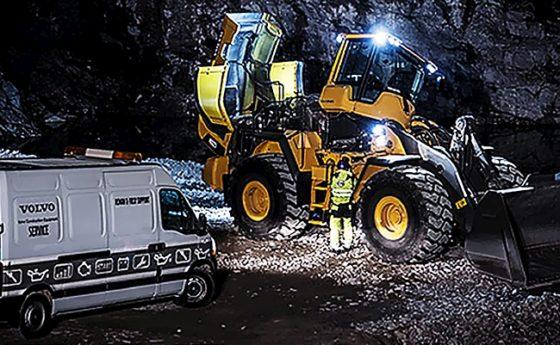 Volvo-wielladers ook verder onder handen genomen