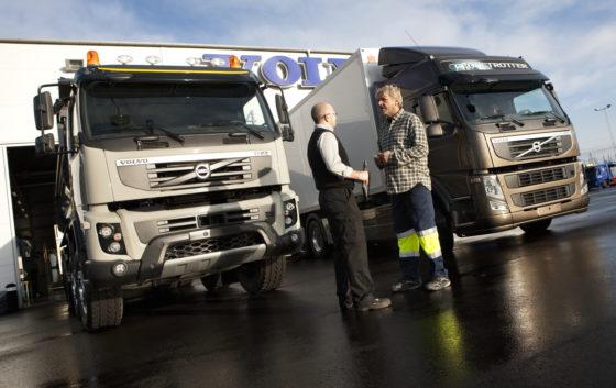 Truckverkopen Volvo schieten omhoog