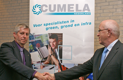 Dick Klok nieuwe voorzitter CUMELA Nederland