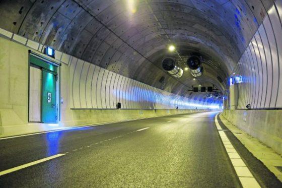 Tunnelbouw volgens ouderwetse methode