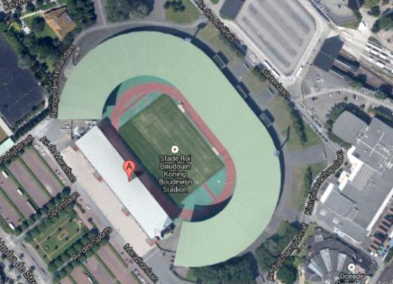 BAM en Ghelamco gaan stadion Brussel bouwen